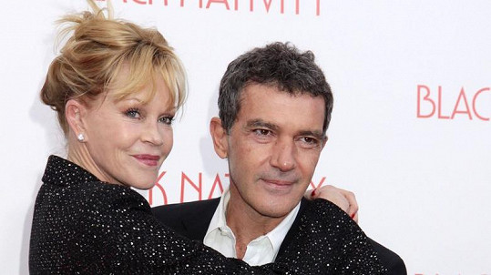 Antonio Banderas s bývalou manželkou Melanií Griffith