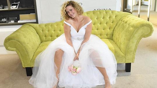 Kateřina Sedláková se bude v létě vdávat.