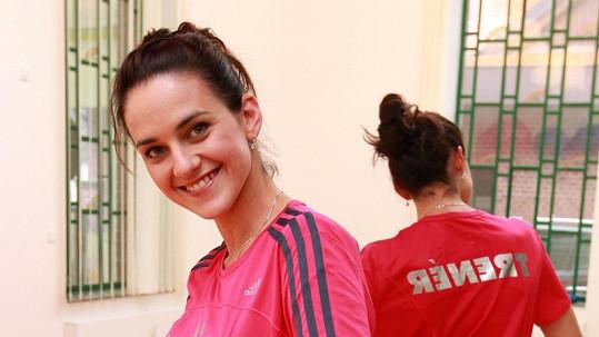 Libuška Vojtková si udělala trenérský kurz na cvičení pro těhotné.