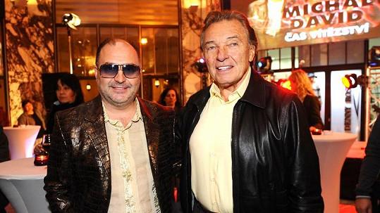 Michal David a Karel Gott jsou nerozluční přátelé.