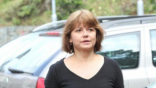 Ivana Andrlová bez make-upu.