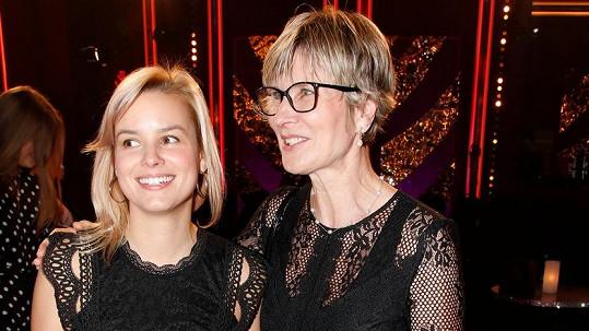 Patricie Pagáčová s maminkou Helenou