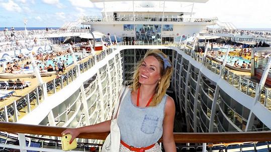 Na největší lodi světa