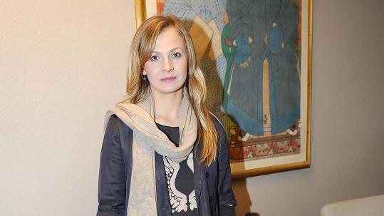 Míša Badinková je podruhé těhotná nejen v seriáu, ale i ve skutečnosti.