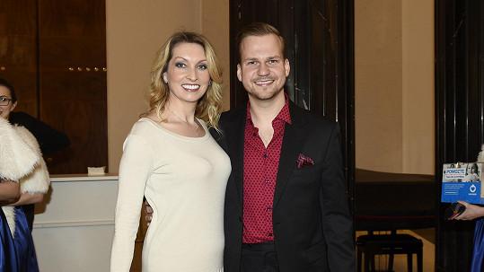 Martin Chodúr s přítelkyní Ivonou