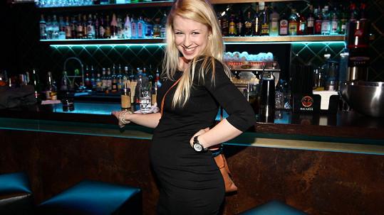 Michaela Sejnová už zná pohlaví miminka.