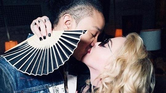 Madonna s přítelem Ahlamalikem