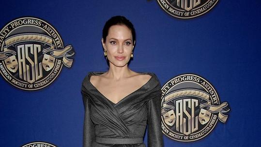 Angelina Jolie zvolila nepříliš zajímavý model.