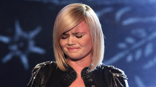 Veronika Stýblová plakala.