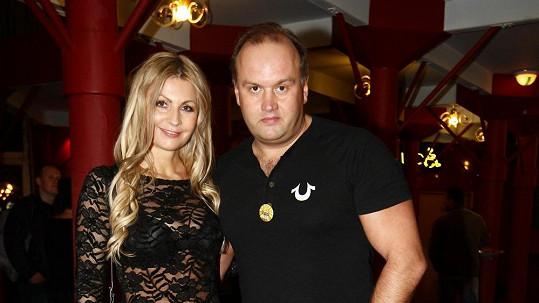 Marek Vít s přítelkyní Katkou