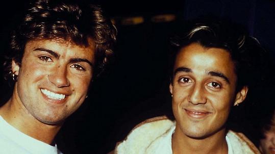 Andrew Ridgeley a George Michael (vlevo) tvořili úspěšné duo Wham!