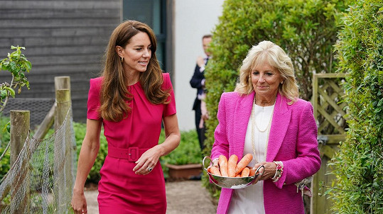 Kate Middleton a Jill Biden