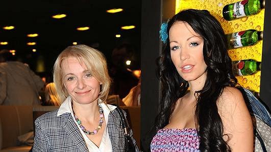 Veronika Žilková s dcerou Agátou Hanychovou.