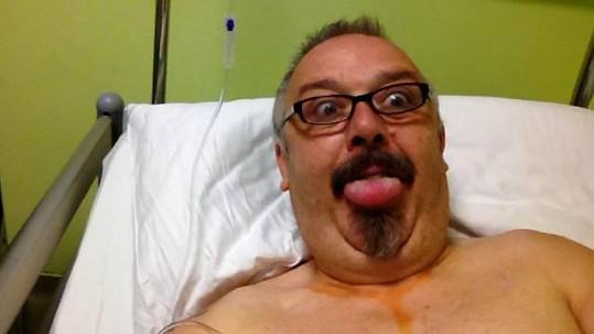 Pavel Kyklop Vohnout je po operaci.