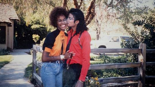 Michael Jackson a Whitney Houston šťastní a na vrcholu kariéry.