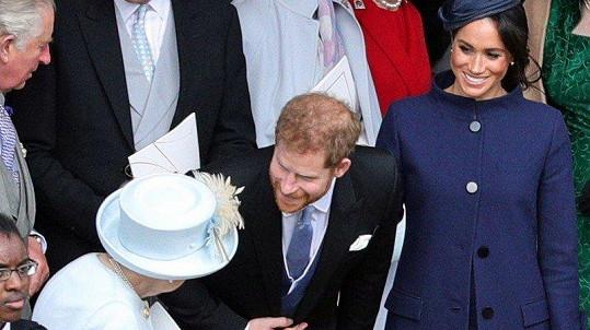 Harry a Meghan oznámili radostnou zprávu na svatbě princezny Eugenie.
