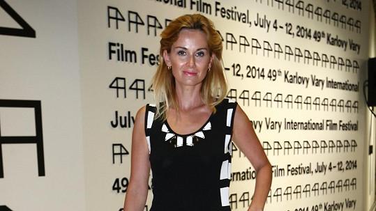Lucca na zahájení filmového festivalu.