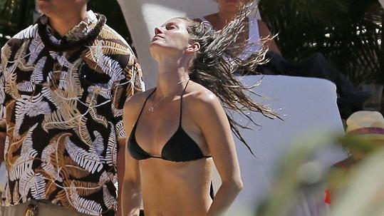 Gisele Bündchen na Havaji.