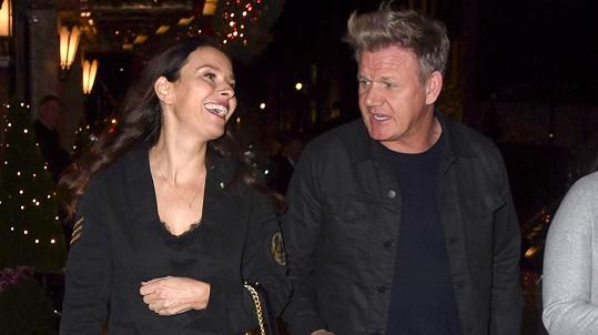 Gordon Ramsay s manželkou Tanou