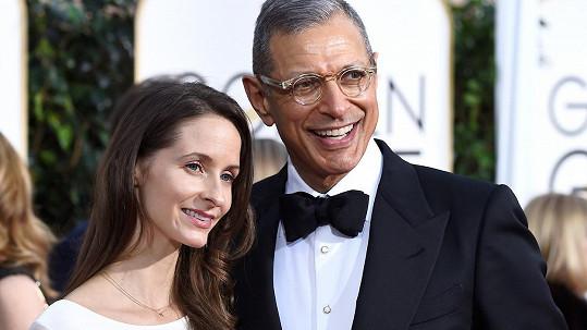 Jeff Goldblum bude v pokročilém věku poprvé tatínkem.