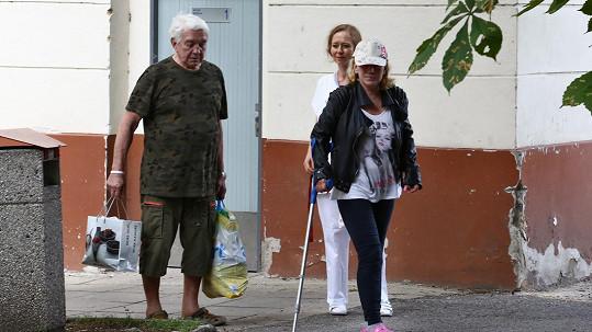 Hanu Krampolovou pustili z psychiatrie.