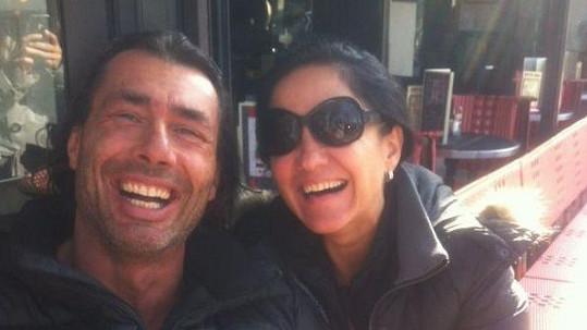 Honza Pokorný alias Indián prý exmanželku Renatu ohrožoval nožem.