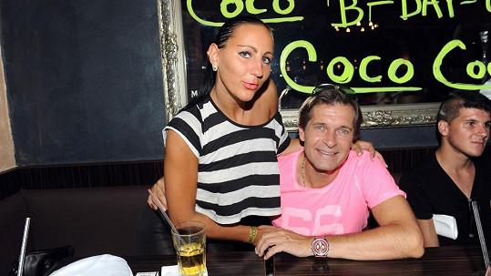 Martin Pouva s expřítelkyní Petrou