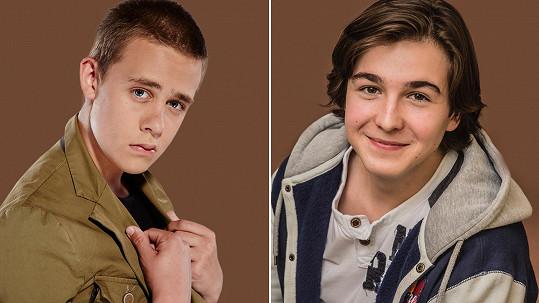 Marek Zeman (vpravo) je novým seriálovým fešákem.