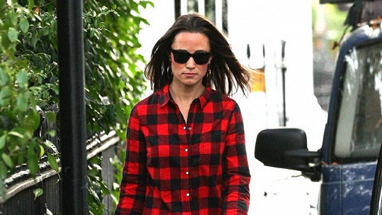Pippa Middleton v nezvyklém modelu.