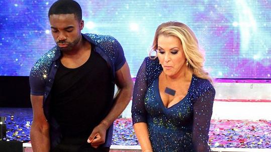 Anastacia v show Strictly Come Dancing