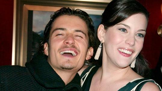 Orlando Bloom a Liv Tyler se poznali už při natáčení trilogie Pán prstenů.