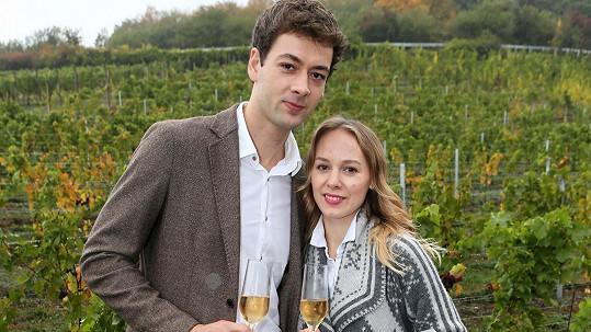 Radúz Mácha s manželkou Martou Drastíkovou