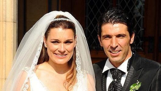 Alena Šeredová se provdala za Gianluigiho Buffona před třemi lety v Praze. Budou se rozvádět?