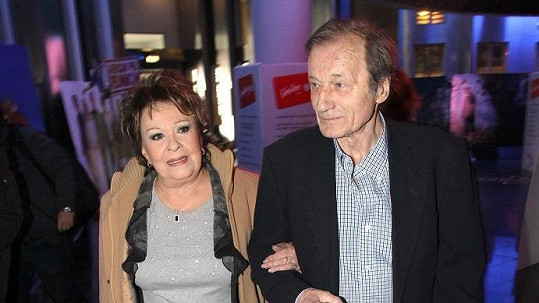 Bohdalová a Brzobohatý se usmířili po třiceti letech. Jiřina teď kontaktovala také jeho ženu.