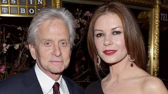 Michael Douglas si dokázal získat zpět srdce krásné manželky.