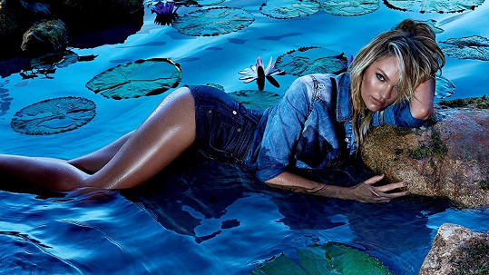 Candice Swanepoel v kampani pro brazilskou oděvní značku