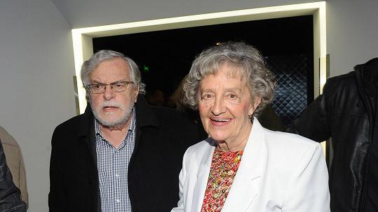 Nina Divíšková s manželem Janem Kačerem