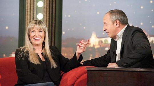 Chantal Poullain i Jan Kraus se výborně bavili.
