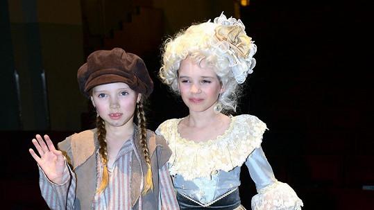 Charlotte a Nelly byly neuvěřitelně roztomilé.