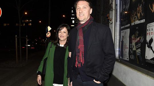 Tereza Brodská s manželem