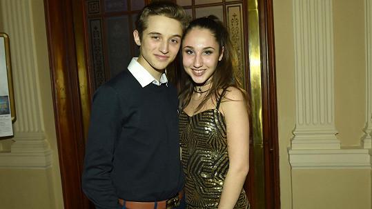 Natálie Grossová s dnes již bývalým přítelem Janem Francem