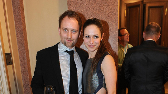 Veronika Kubařová s Pavlem Khekem