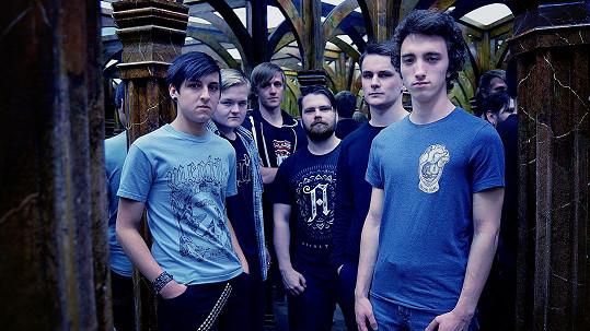 Artur Štaidl (druhý zleva) a jeho kolegové z kapely