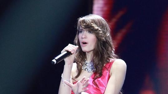 Dominika Hašková se chce živit zpěvem.