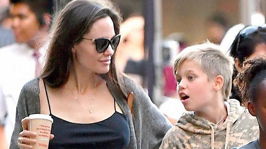 Angelina vypadá, že je v nejlepší životní formě.