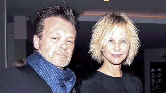 Meg Ryan s bývalým partnerem Johnem Mellencampem