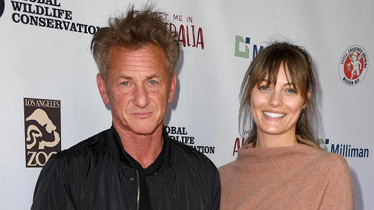 Sean Penn s přítelkyní Leilou George