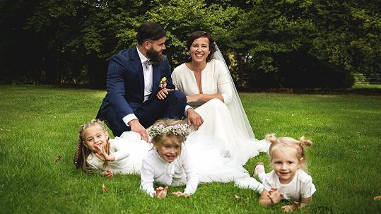 Lucie Šilhánová se vdala.