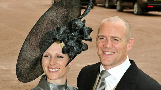 Zara Phillips a Mike Tindall