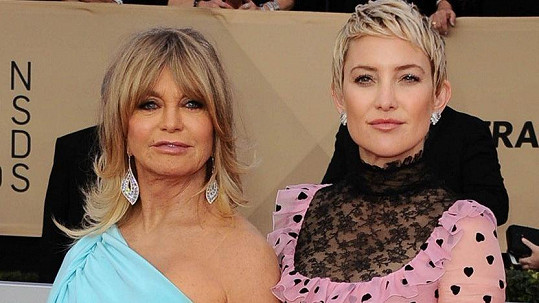 Goldie Hawn a Kate Hudson na udílení SAG Awards